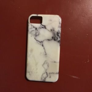 White marble bendable plastic iPhone 6 case